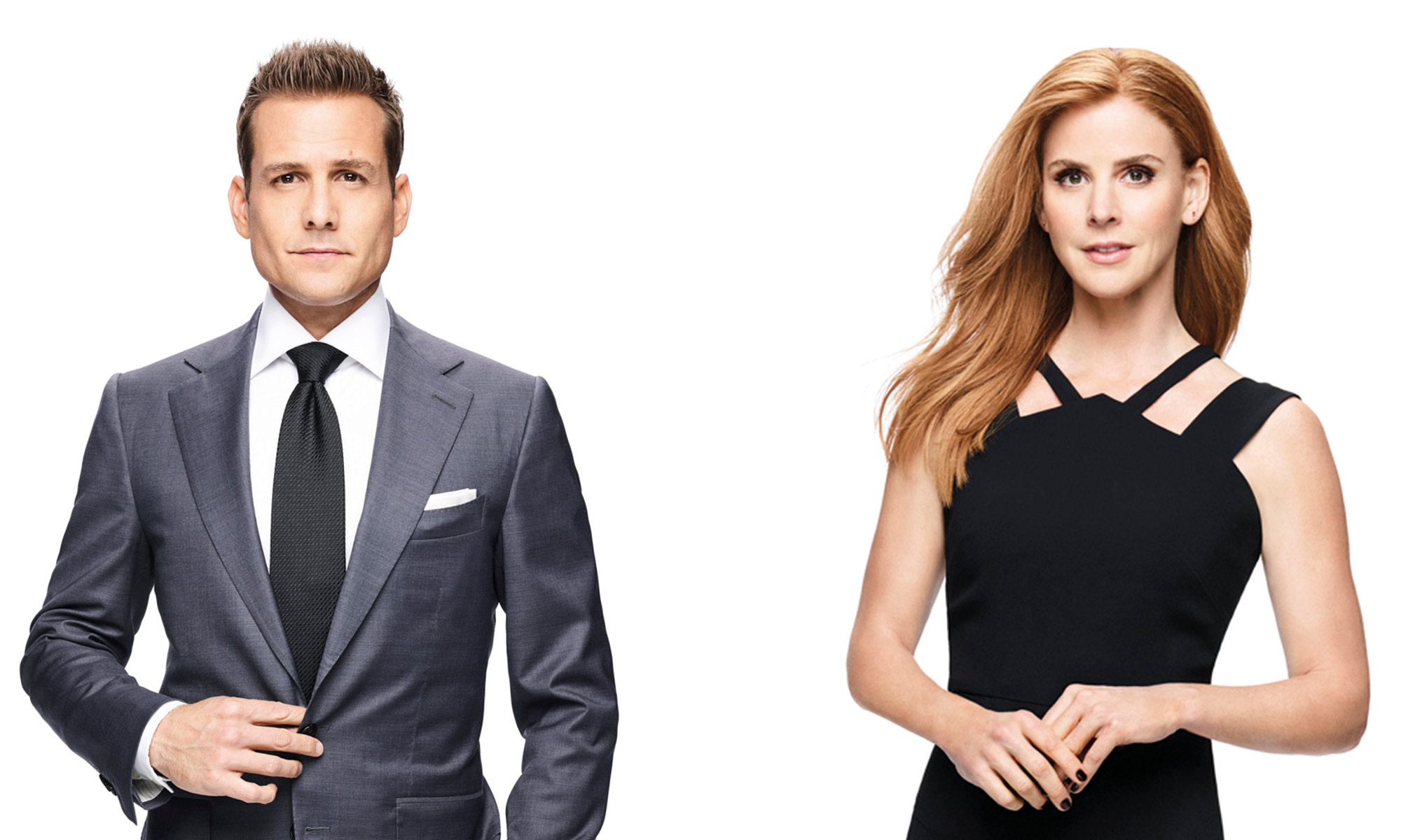 Suits Gabriel Macht and Sarah Rafferty interview